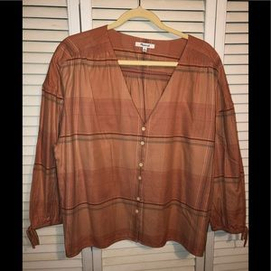 Madewell Button Top